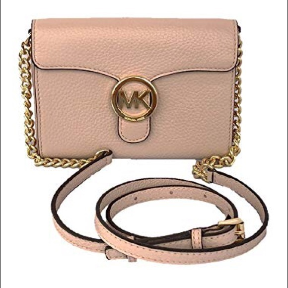 77d08356588c20 Michael Kors Bags | Vanna Large Leather Phone Crossbody | Poshmark